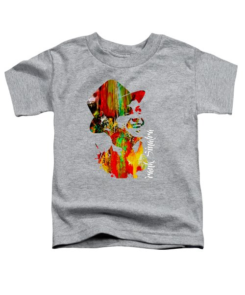 Frank Sinatra Collection Toddler T-Shirt by Marvin Blaine