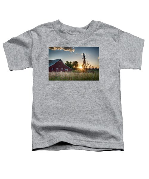 17 Mile House Farm - Sunset Toddler T-Shirt