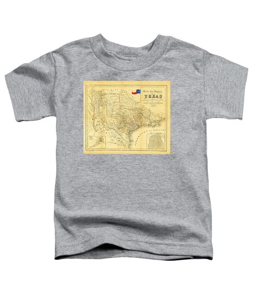 1849 Texas Map Toddler T-Shirt
