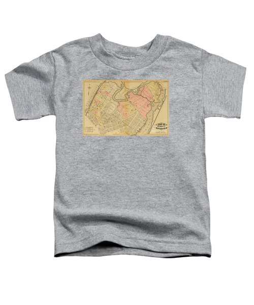 1879 Inwood Map  Toddler T-Shirt by Cole Thompson