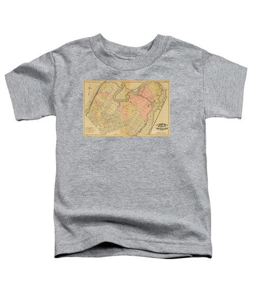 1879 Inwood Map  Toddler T-Shirt