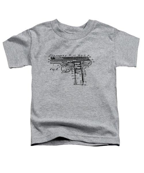 1911 Automatic Firearm Patent Minimal - Vintage Toddler T-Shirt