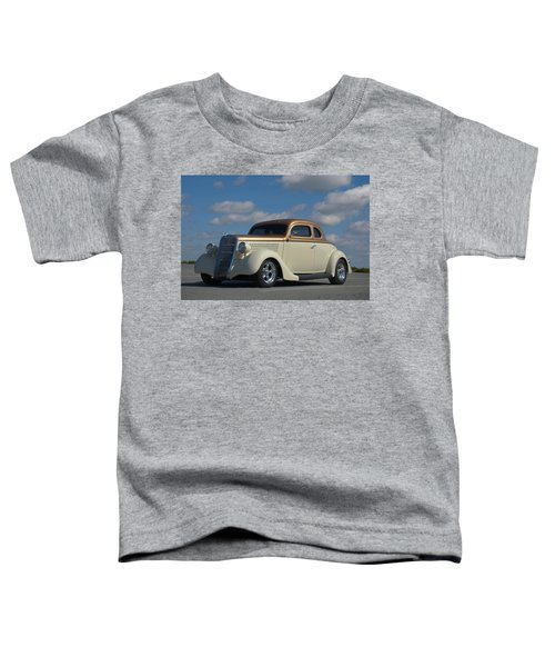 1935 Ford Coupe Hot Rod Toddler T-Shirt
