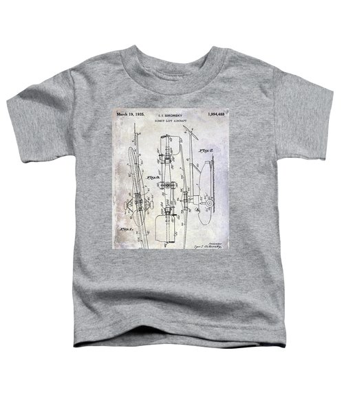 1935 Helicopter Patent  Toddler T-Shirt by Jon Neidert