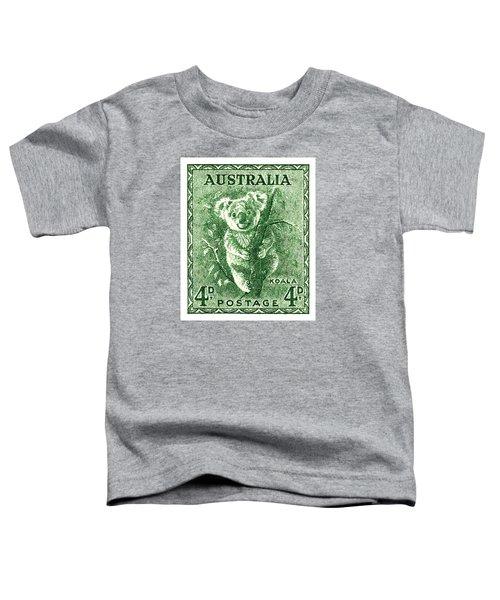1940 Australia Koala Postage Stamp Toddler T-Shirt