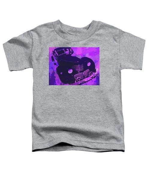 1940 Hupp Skylark Violet Pop Toddler T-Shirt