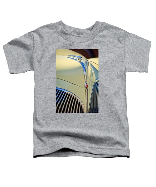 1941 Lincoln Continental Cabriolet V12 Grille Toddler T-Shirt