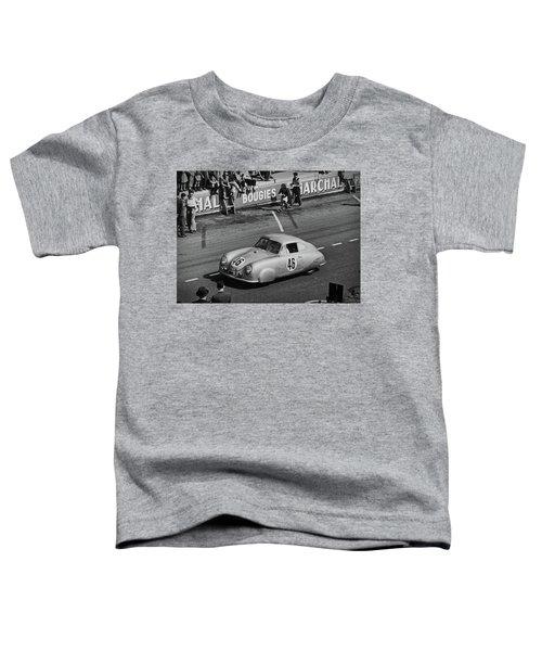 1951 Porsche Winning At Le Mans  Toddler T-Shirt