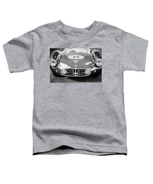 1954 Maserati A6 Gcs -0255bw Toddler T-Shirt
