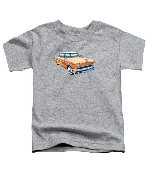 1955 Lincoln Capri Fine Art Illustration  Toddler T-Shirt