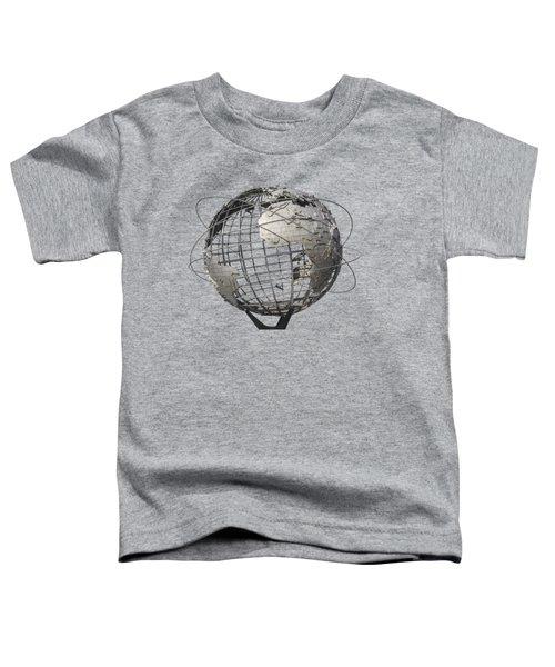 1964 World's Fair Unisphere Toddler T-Shirt