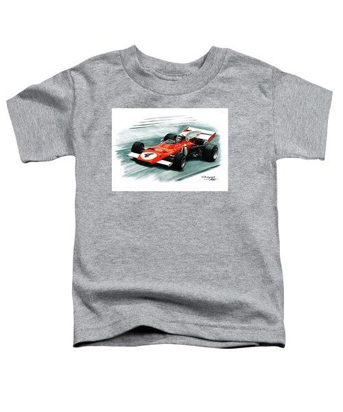 1972  Ferrari 312b2 Toddler T-Shirt