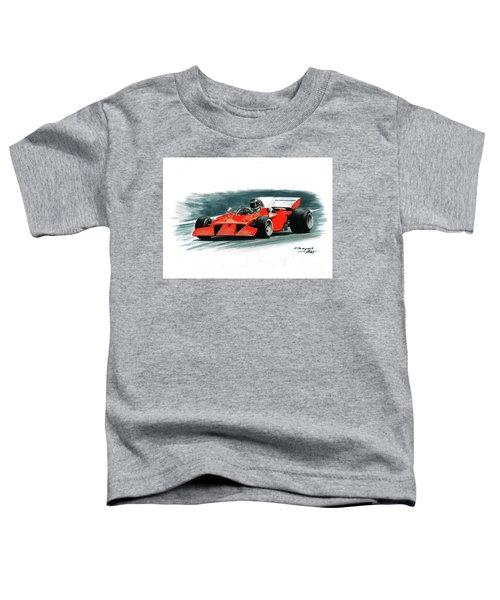 1972  Ferrari 312b3s Toddler T-Shirt