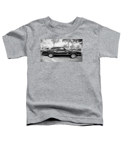 1987 Chevrolet Monte Carlo Ss Coupe Bw C124  Toddler T-Shirt