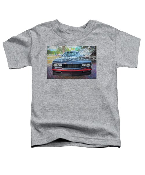 1987 Chevrolet Monte Carlo Ss Coupe C120 Toddler T-Shirt