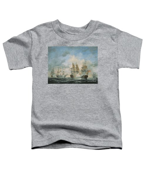 19th Century Naval Engagement In Home Waters Toddler T-Shirt