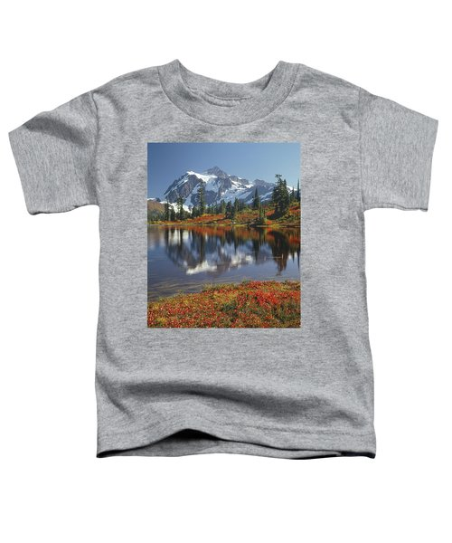 1m4208 Mt. Shuksan And Picture Lake Toddler T-Shirt