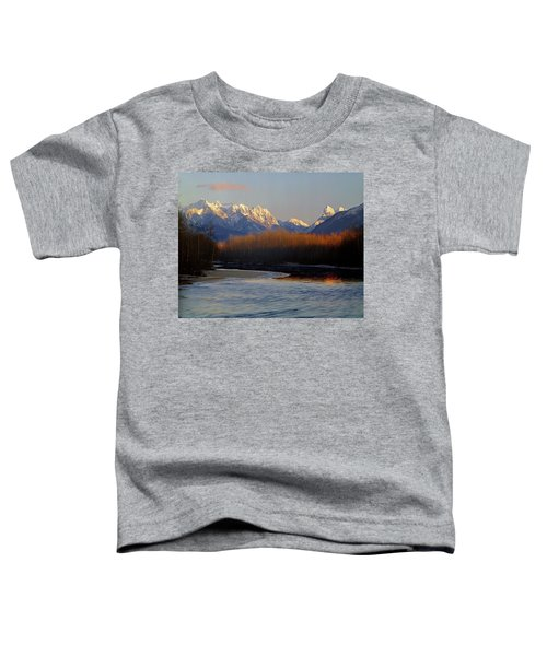 1m4525 Skykomish River And West Central Cascade Mountains Toddler T-Shirt