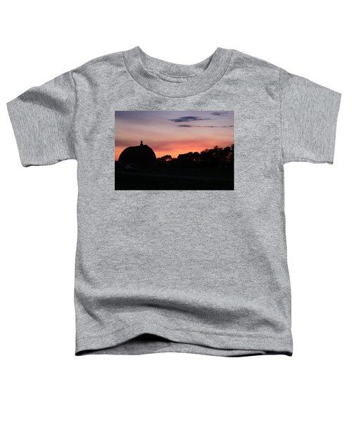 Barn Sunset Toddler T-Shirt