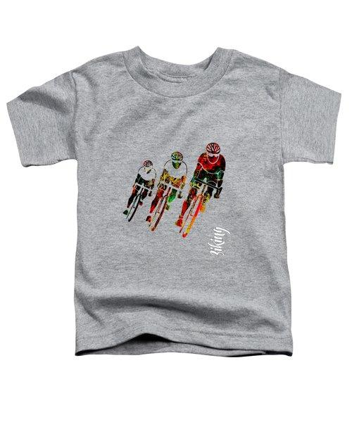 Bike Racing Toddler T-Shirt