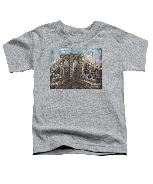 Brooklyn Bridge Toddler T-Shirt