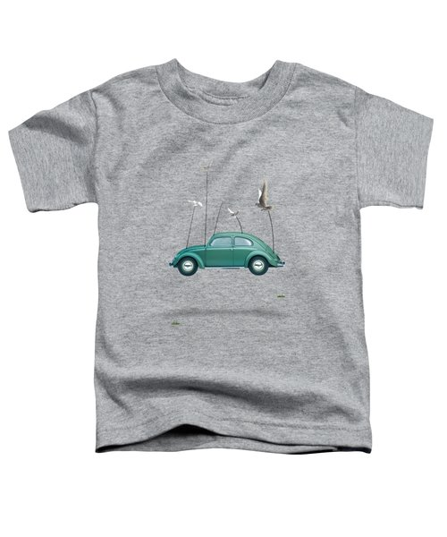 Cars  Toddler T-Shirt by Mark Ashkenazi