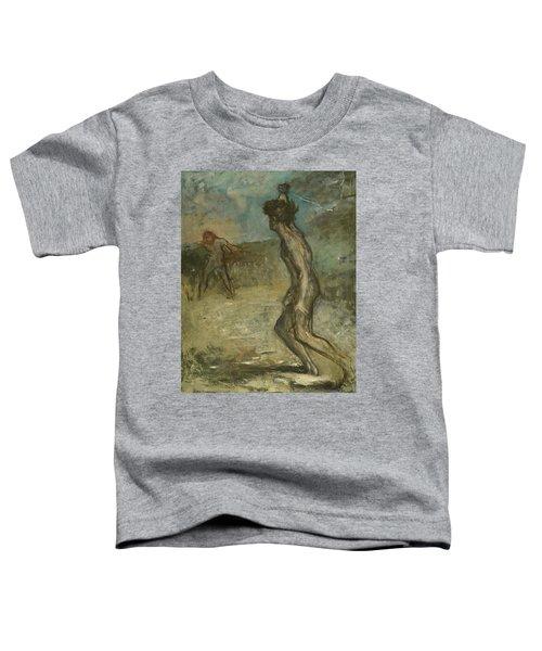 David And Goliath Toddler T-Shirt