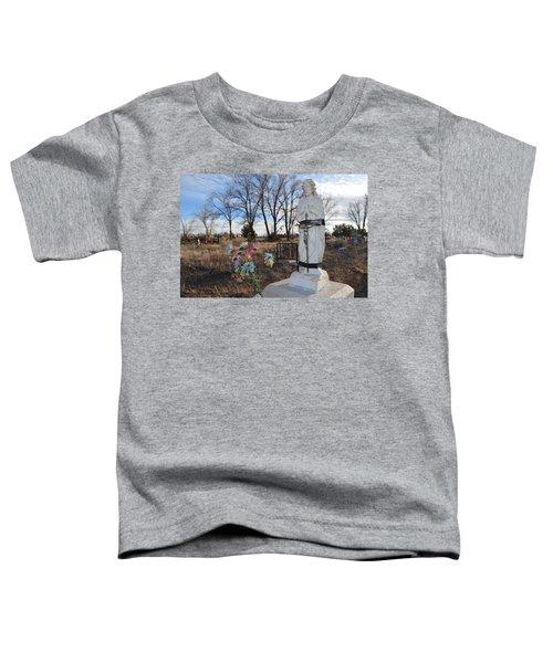 Electrical Tape Jesus Toddler T-Shirt