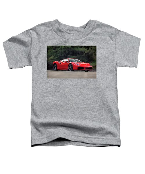 #ferrari #488gtb Toddler T-Shirt