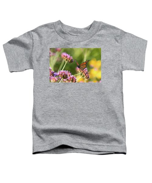 Flight Of The Monarch 1 Toddler T-Shirt