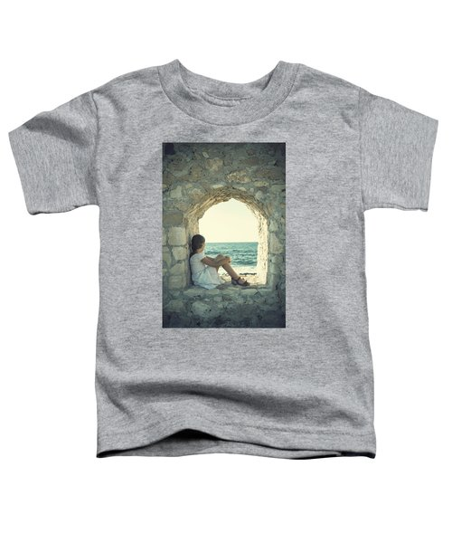 Girl At The Sea Toddler T-Shirt