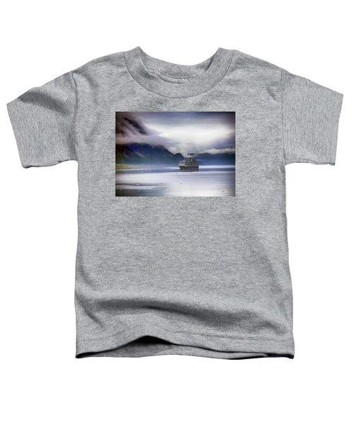 Glacier Bay Alaska Toddler T-Shirt
