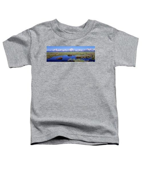 Grand Teton Park, Wyoming, Usa Toddler T-Shirt