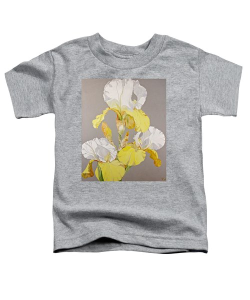 Irises-posthumously Presented Paintings Of Sachi Spohn  Toddler T-Shirt