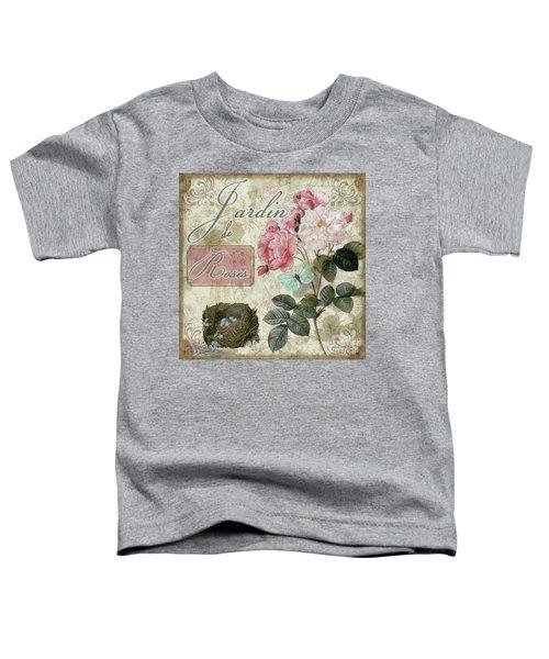 Jardin De Roses Toddler T-Shirt