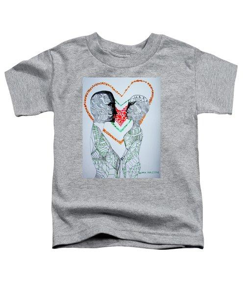 Love Is A Heart Toddler T-Shirt