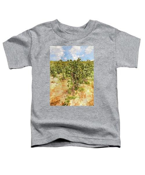 Napa Vineyard In The Spring Toddler T-Shirt