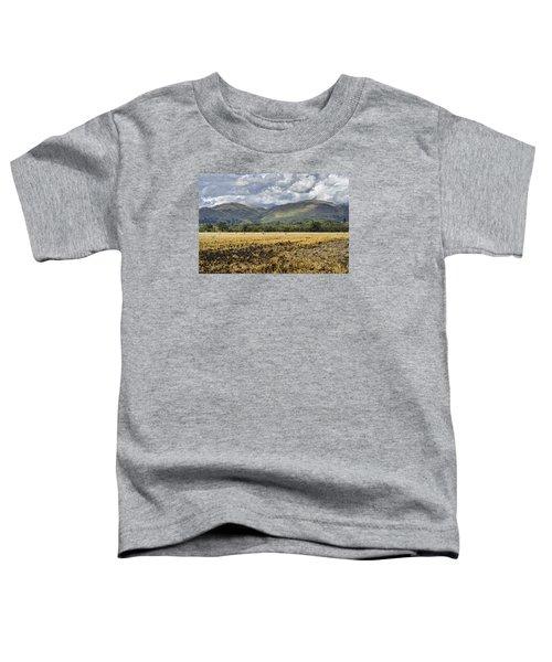 Ochil Hills Toddler T-Shirt by Jeremy Lavender Photography