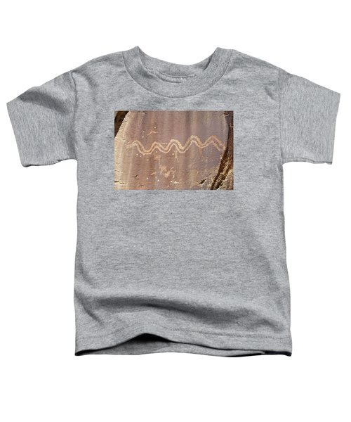 Petroglyph - Fremont Indian Toddler T-Shirt
