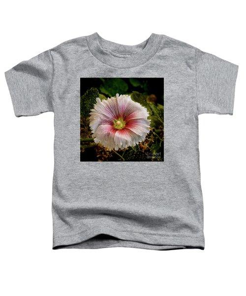 Pink Hollyhock Toddler T-Shirt