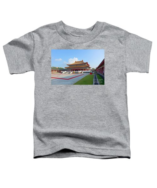 The Confucius Temple In Kaohsiung, Taiwan Toddler T-Shirt