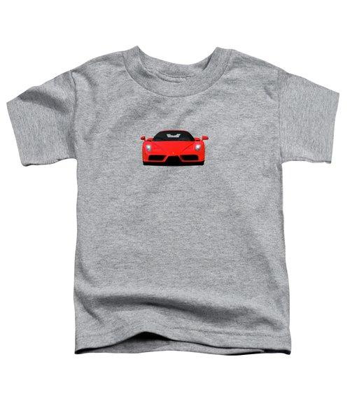 The Ferrari Enzo Toddler T-Shirt by Mark Rogan