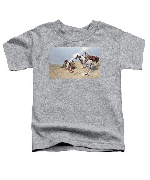 The Smoke Signal Toddler T-Shirt