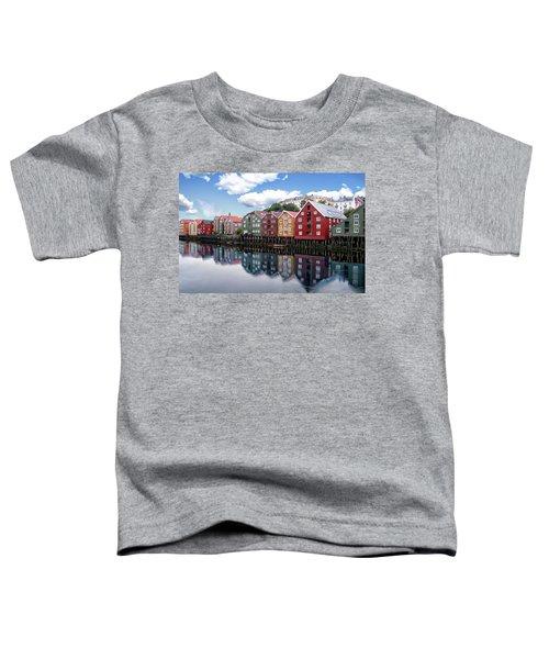 Trondheim Coastal View Toddler T-Shirt