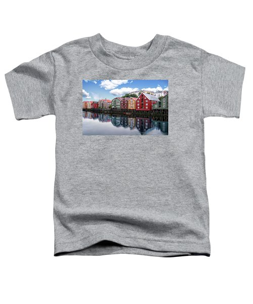 Trondheim Coastal View Toddler T-Shirt
