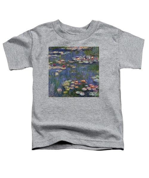 Water Lilies, 1916 Toddler T-Shirt