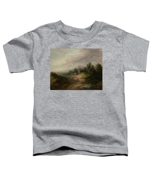 Wooded Upland Landscape Toddler T-Shirt