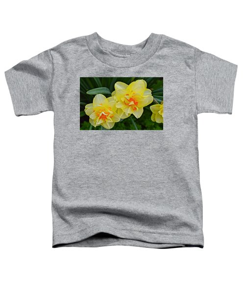 2015 Spring At The Gardens Tango Daffodil Toddler T-Shirt