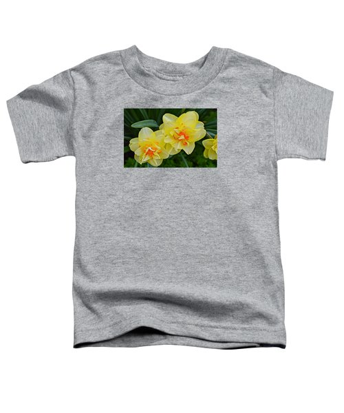 2015 Spring At The Gardens Tango Daffodil Toddler T-Shirt