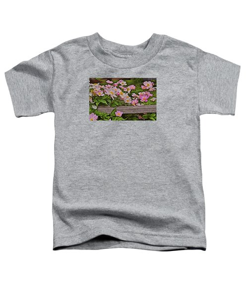 2015 Summer's Eve Front Yard Peonies 1 Toddler T-Shirt